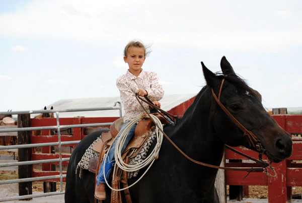Learning the Ropes, Gould Ranch Cattle Co.