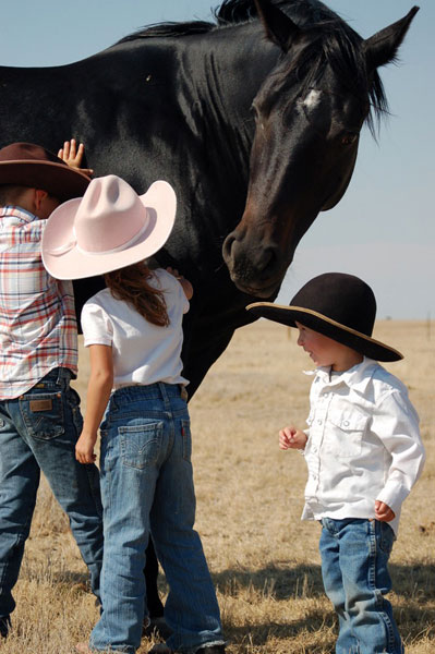 Family, Gould Ranch Cattle Co.